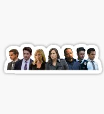 SVU Cast Sticker