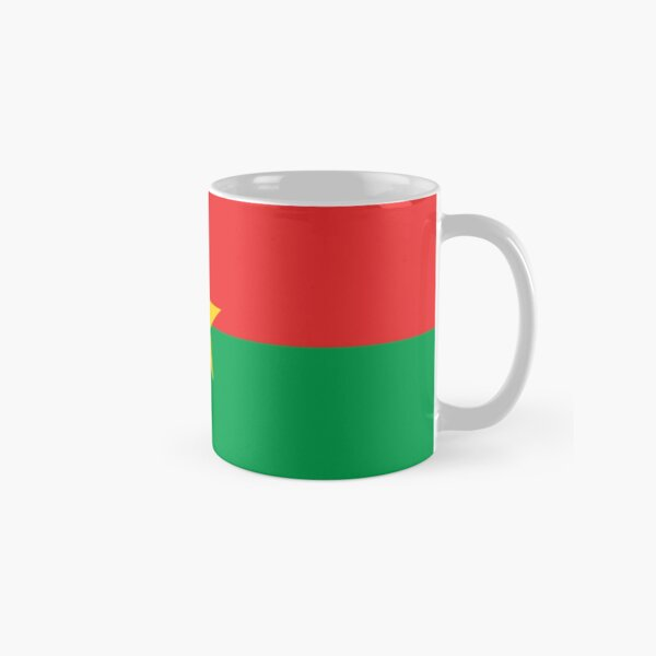 Burkina Faso Flag Gifts, Stickers & Products Classic Mug