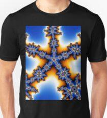 Fractal blue star T-Shirt