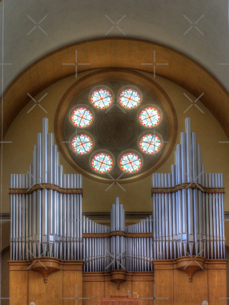 Pipe Organ St. Francis of Assisi Church, Vienna Austria by Mythos57