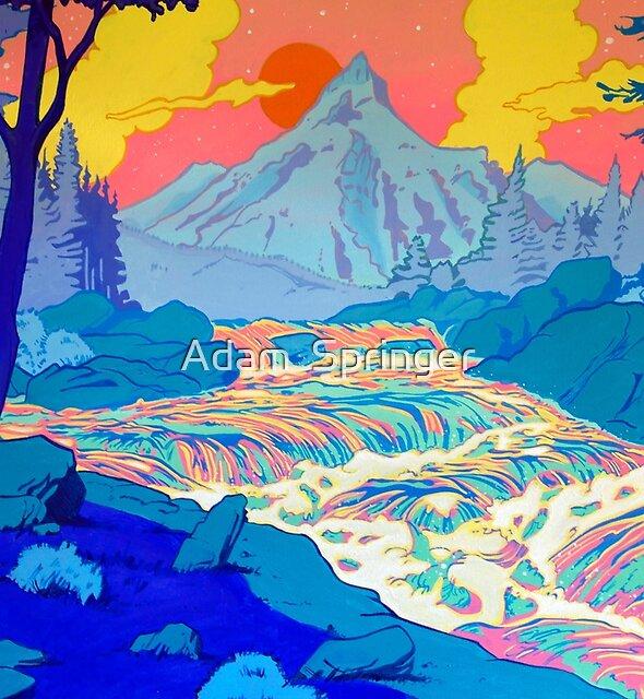 River by Adam  Springer