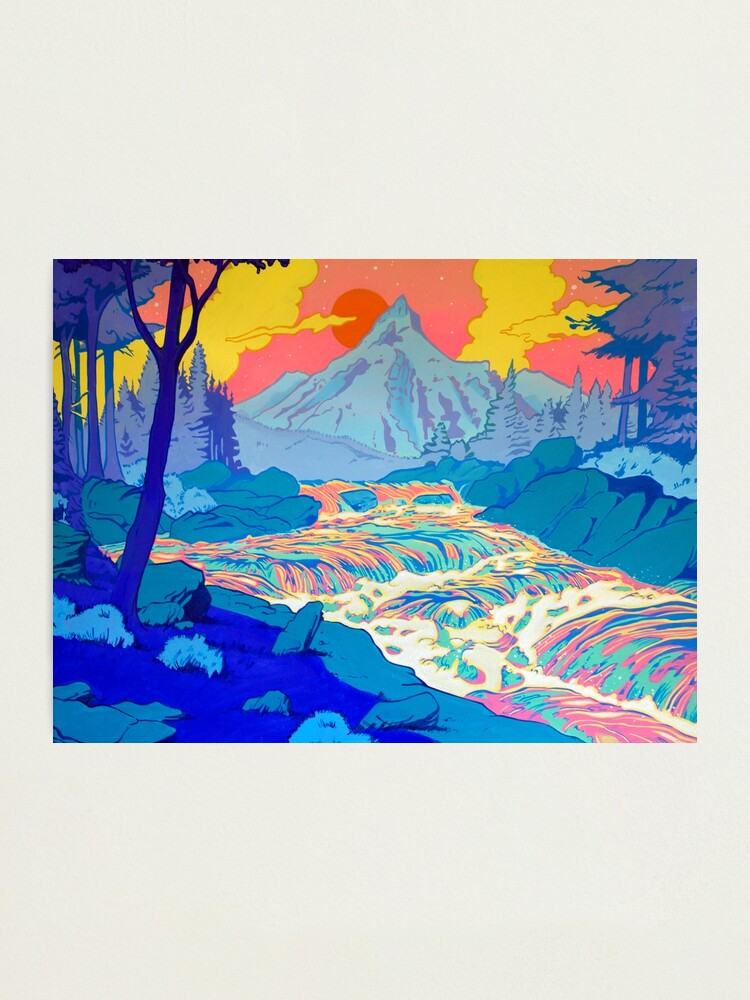 Alternate view of River Photographic Print