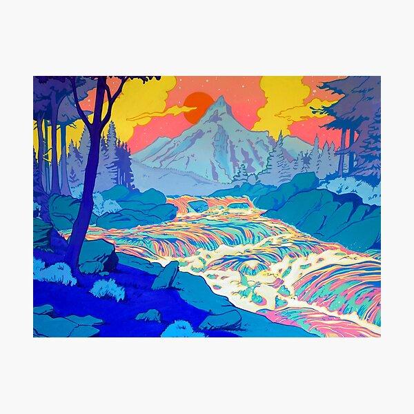 River Photographic Print