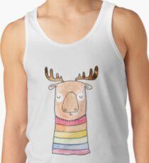 Rainbow Moose Tank Top
