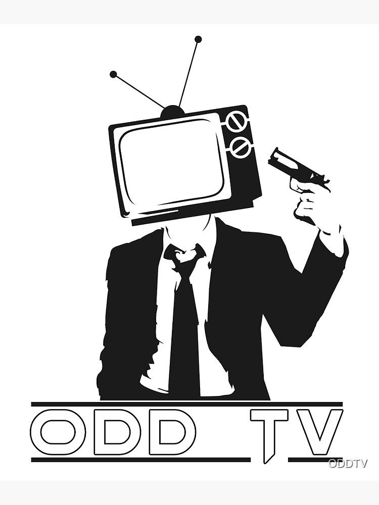 ODD TV Kill the Programming Logo by ODDTV