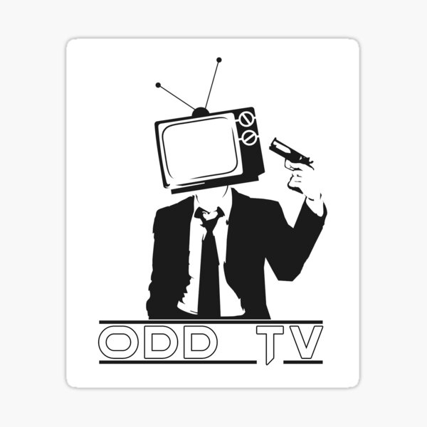 ODD TV Kill the Programming Logo Sticker