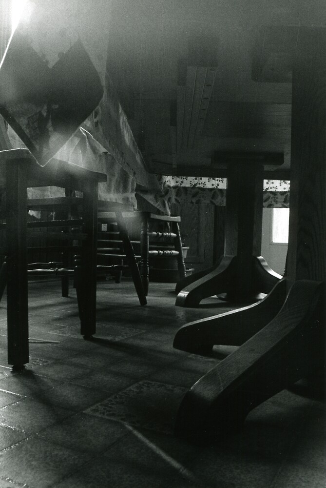 Under the Dining Room Table by SongbirdBreid