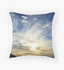 Whippy Clouds Throw Pillow