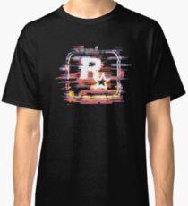 Rockstar Games Logo - Code Noise Classic T-Shirt