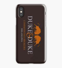 Trading Places - Duke and Duke Commodities Brokers iPhone Case/Skin