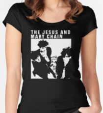 The Jesus and Mary Chain band Women's Fitted Scoop T-Shirt