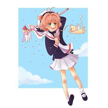 Karte Kaptor Sakura von susanmariel