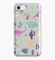Dinosaur Desert iPhone Case/Skin