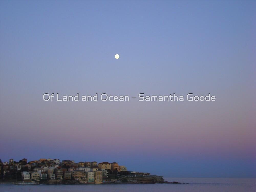 Moonlight over Bondi, Australia by Of Land & Ocean - Samantha Goode