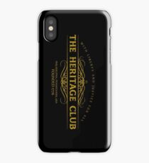 Trading Places - The Heritage Club iPhone Case/Skin