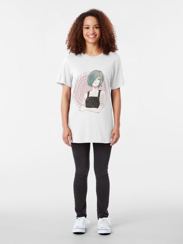 Alternate view of : Touka Kirishima : Slim Fit T-Shirt