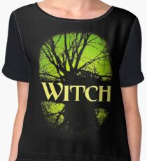 Good Witch or Bad Witch? Women's Chiffon Top
