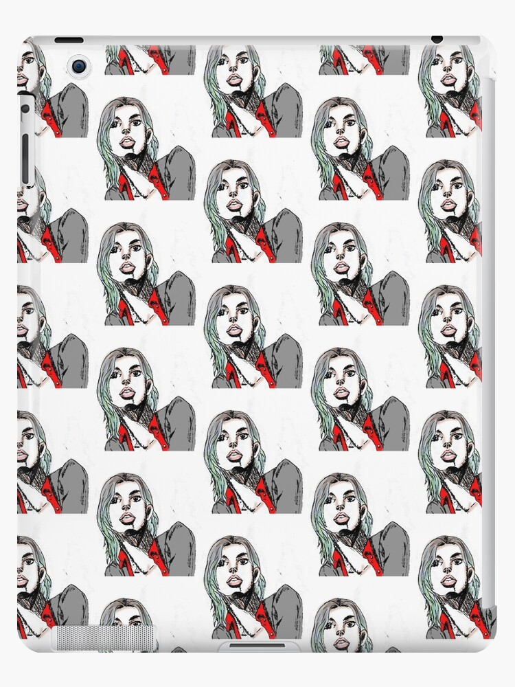 Aesthetic Tumblr Girl Ipad Cases Skins By Asha Ketchup Redbubble