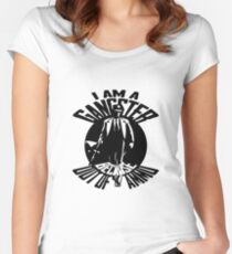 I am a Gangster Women's Fitted Scoop T-Shirt