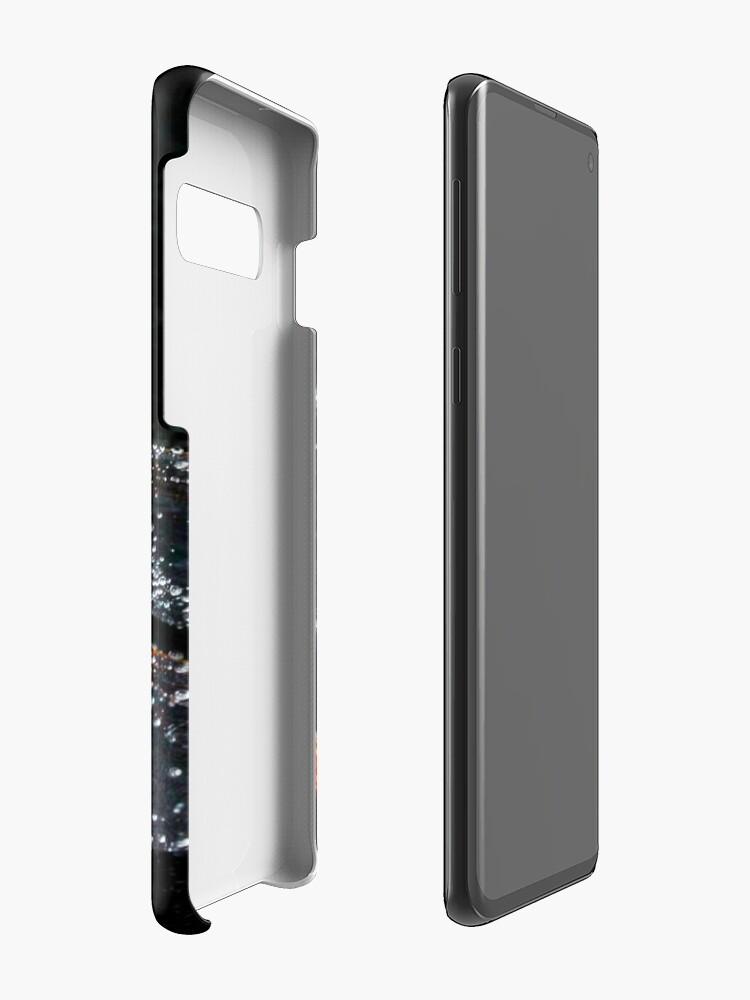 Alternative Ansicht von Magischer glitzernder Drache Hülle & Klebefolie für Samsung Galaxy