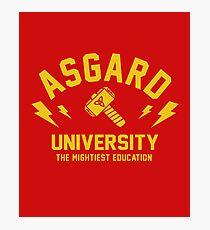 Asgard University - The Mightiest Education Photographic Print