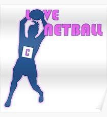 LOVE NETBALL Poster