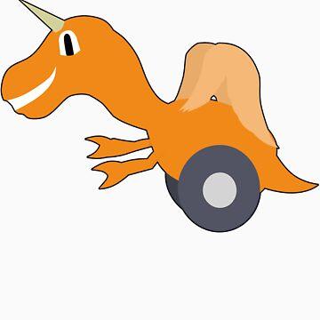 Lam-o-saurus Rex by TheoryOfEntropy