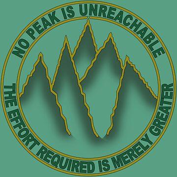 No peak is unreachable - green by Adamasage