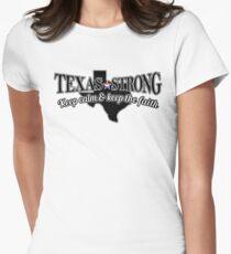 Texas Strong - Hurricane Harvey Relief Effort T-shirt Women's Fitted T-Shirt