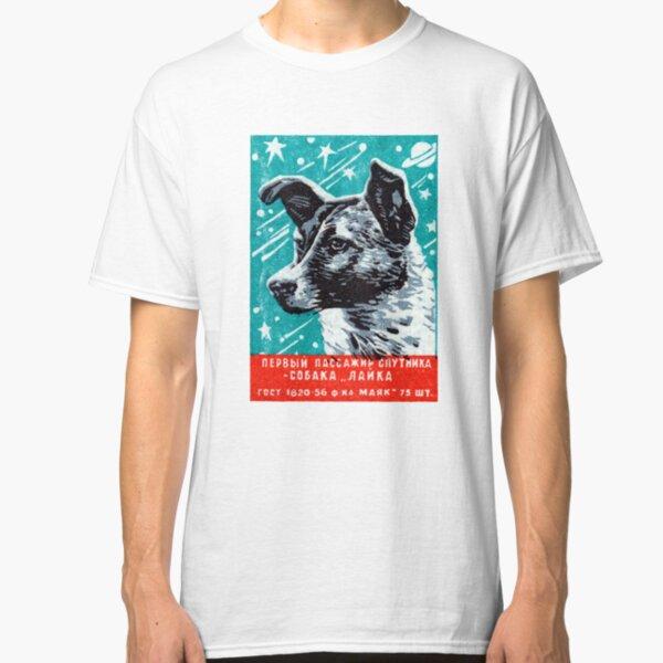 1957 Laika the Space Dog Classic T-Shirt