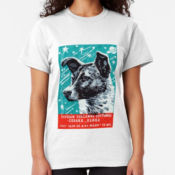 1957 Laika the Space Dog Classic T-Shirt
