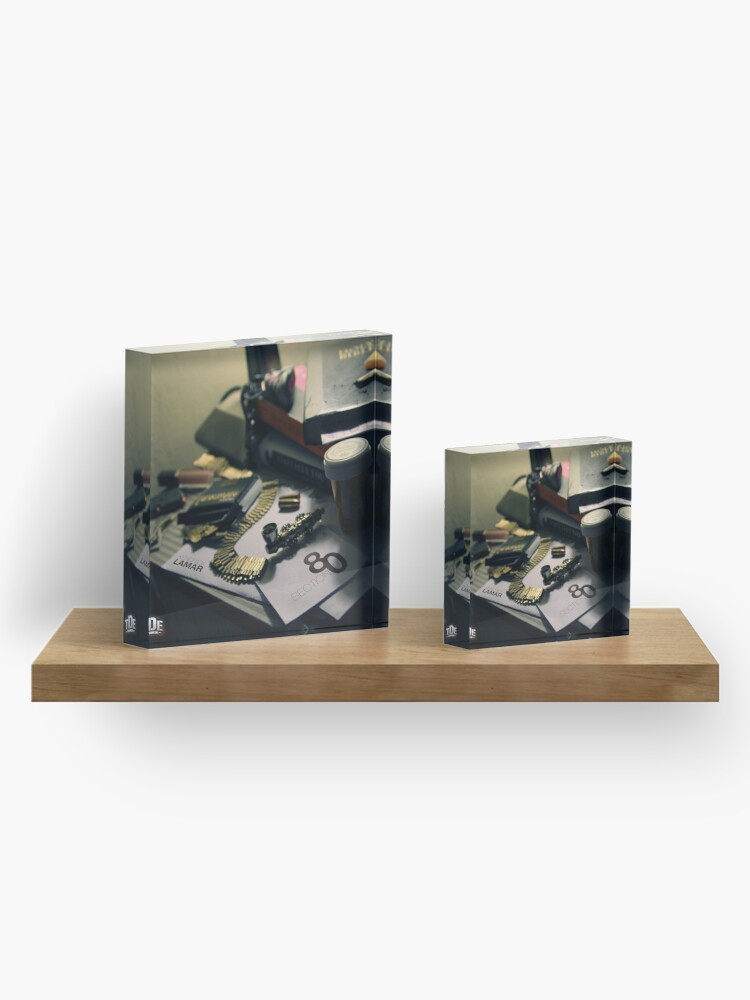 Alternate view of Section .80 Acrylic Block