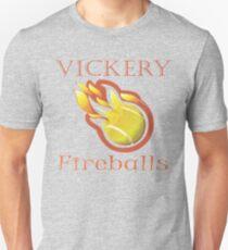 Vintage Vickery Fireballs Unisex T-Shirt