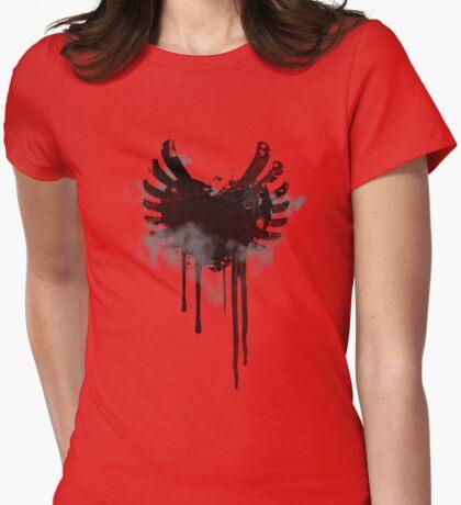 Grunge Heart & Wings  T-Shirt
