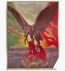 Mexikanisches antifaschistisches Plakat (1942) Poster