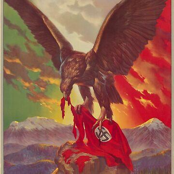 Mexikanisches antifaschistisches Plakat (1942) von dru1138