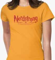 Nerdstrong - House Colors Red and Yellow T-Shirt