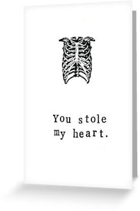 You Stole My Heart by bluespecsstudio