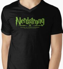 Nerdstrong - House Colors Green and Black T-Shirt
