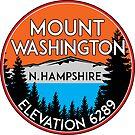 MOUNT WASHINGTON NEW HAMPSHIRE MOUNTAIN CLIMBING HIKING EXPLORE 5 by MyHandmadeSigns