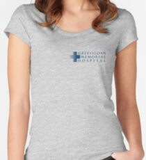 Grey+Sloan Memorial Hospital Women's Fitted Scoop T-Shirt