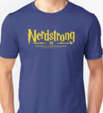 Nerdstrong - House Color Blue and Bronze T-Shirt