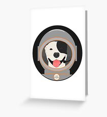 Commander Barkington Greeting Card