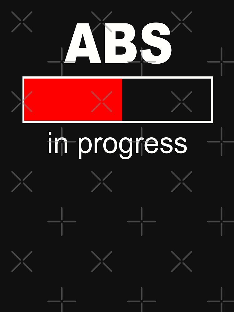 ABS in progress - White - Red by BobbyG305
