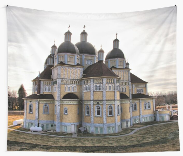 Ukrainian Catholic Church of the Immaculate Conception by Vickie Emms