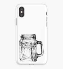 mason jar iPhone Case/Skin