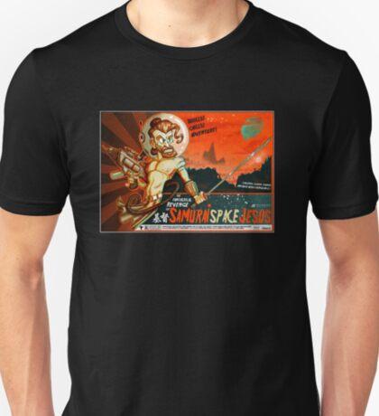 Samurai Space Jesus T-Shirt