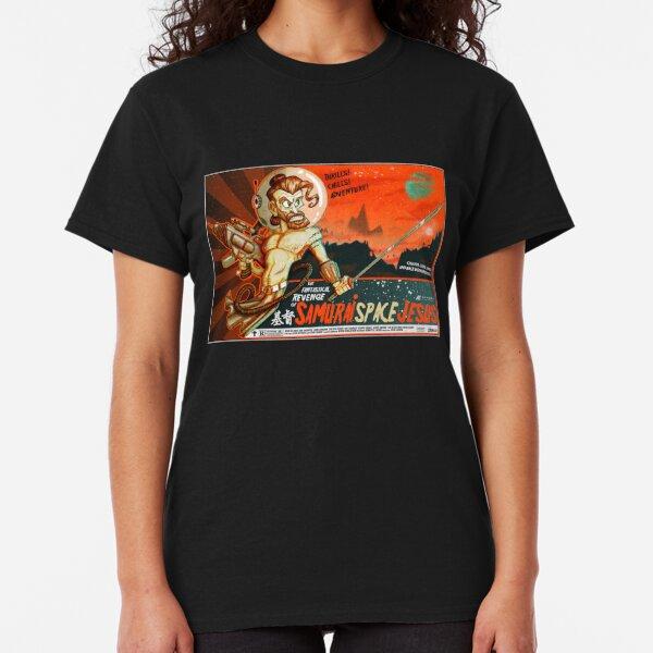 Samurai Space Jesus Classic T-Shirt