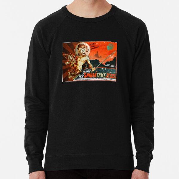Samurai Space Jesus Lightweight Sweatshirt