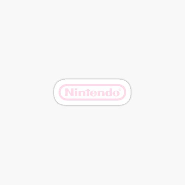 Pink Nintendo Sticker